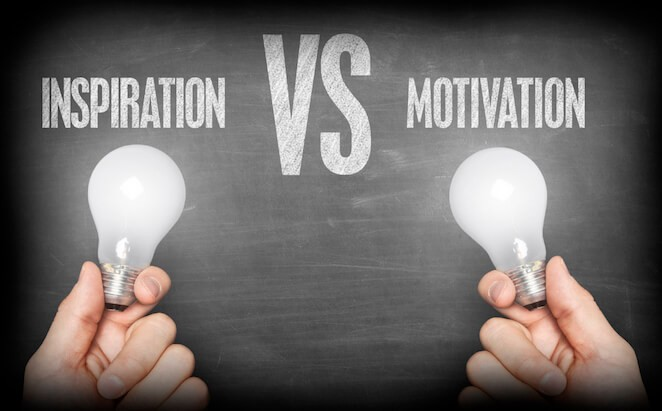 The Constant Battle Of Inspiration Vs Motivation, Which Is Better?